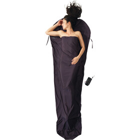 Cocoon MummyLiner Drap pour sac de couchage Thermolite Silkweight, volcano grey